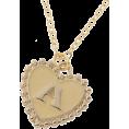 INGNI(イング) - イニシャル ハート/ネックレス - Necklaces - ¥1,050  ~ $10.68