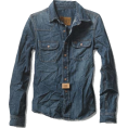 leatrendme - Third Bay- Denim Shirt - Long sleeves shirts - $59.50