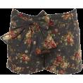 natalia torres - Floral Print Bow Shorts - Shorts -