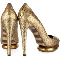 sandra24 - Gold Shoes - Shoes -