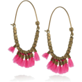 sandra24 - Pink Earrings - Earrings -