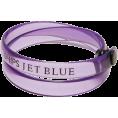 SHIPS JET BLUE(シップス) - SHIPS JET BLUE ビニル ブレスレット - Bracelets - ¥1,260  ~ $12.82