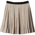 Anita An - SILK BLEND STRIPED SKIRT - Skirts -