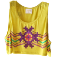 Hartikainen Doña Marisela - Yellow Top - トップス -