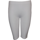 FineBrandShop Ghette -  17 Inches Seamless Leggings White