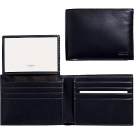 COACH Wallets -  Coach 4658 Water Buffalo Leather Passcase ID Wallet, Black