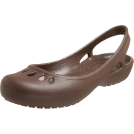 Crocs Sandals -  crocs Women's Malindi Flat Slingback Brown