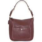 Buxton  -  B-Collective Handbags by Buxton 10HB041.BG Shoulder Bag- Burgundy