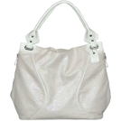 Buxton  -  B-Collective Handbags by Buxton 10HB059.WH Hobo- White