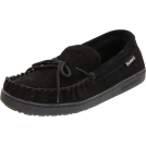 Bearpaw Moccasins -  BEARPAW Men's Moc II Slip-On Black