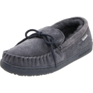 Bearpaw Moccasins -  BEARPAW Men's Moc II Slip-On Charcoal