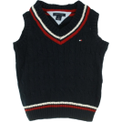 Tommy Hilfiger Vests -  Boy's Tommy Hilfiger Cable Sweater Vest Navy