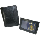 Buxton Wallets -  Buxton Executive Two-fold Weekender wallet with removable front pocket card case Black