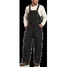 Carhartt Overall -  Carhartt Men's Extremes Arctic Quilt Lined Zip-To-Waist Biberall Black