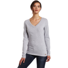 Carhartt Long sleeves t-shirts -  Carhartt Women's Lightweight Long Sleeve V-Neck Tshirt, Heather Gray, X-Large Heather Gray