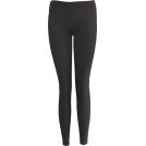 FineBrandShop Ghette -  Charcoal Cotton Leggings Full Length
