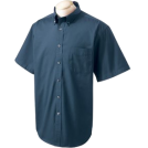 Chestnut Hill T-shirts -  Chestnut Hill 32 Singles Sort Sleeve Twill Shirt. CH505 Navy
