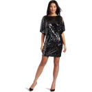 Donna Morgan sukienki -  Donna Morgan Women's Wide Sleeve Dress Gunmetal