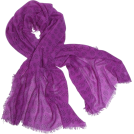 Echo Scarf -  Echo Polka Dot Wrap Hot Viola