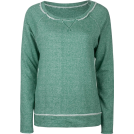 Full Tilt Long sleeves t-shirts -  FULL TILT Essential Cut Seam Womens Sweatshirt Green