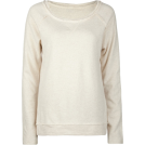 Full Tilt Long sleeves t-shirts -  FULL TILT Essential Cut Seam Womens Sweatshirt Oatmeal