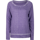 Full Tilt Long sleeves t-shirts -  FULL TILT Essential Cut Seam Womens Sweatshirt Purple