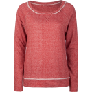 Full Tilt Long sleeves t-shirts -  FULL TILT Essential Cut Seam Womens Sweatshirt Red