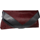 Foley + Corinna Clutch bags -  Foley + Corinna Georgina Portfolio Clutch Venom Pony/Black