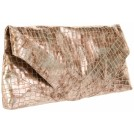 Foley + Corinna Clutch bags -  Foley + Corinna Women's Georgina Clutch Bronze Metallic Croco
