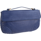 Foley + Corinna Clutch bags -  Foley + Corinna Women's Quilty Clutch Sapphire