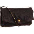 Frye Torby z klamrą -  Frye Convertible Clutch Dark Brown