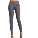 Halston Heritage Pants -  HALSTON HERITAGE Women's Slim Pant Steel