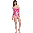 Hello Kitty  -  Hello Kitty Women's Hk Dreaming Of Love Pajama Short Set With Printed Tank Top And Shorts Pink