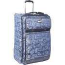 "Jessica Simpson Travel bags -  Jessica Simpson Luggage Signature Jacquard 28"" Expandable Upright Denim"