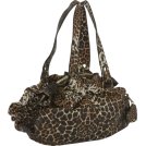 Jessica Simpson Torbe -  Jessica Simpson Moda Framed Satchel Leopard Cheetah