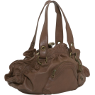 Jessica Simpson Bag -  Jessica Simpson Moda Framed Satchel Walnut