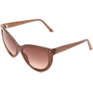 Jessica Simpson Sunglasses -  Jessica Simpson Women's J541 AR Cat Eye Sunglasses Adobe Rose Frame/Pink Gradient Lens