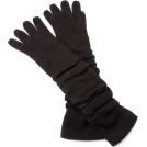 Jessica Simpson Manopole -  Jessica Simpson Women's Rouched Knit Glove Black