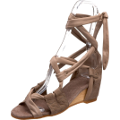 Kooba Sandals -  Kooba Women's Lainey Wedge Sandal Taupe