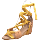 Kooba Sandals -  Kooba Women's Lainey Wedge Sandal Yellow