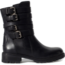 marija272 Botas -  LEATHER BIKER ANKLE BOOT