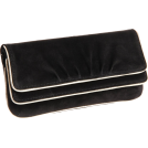 Lauren Merkin Clutch bags -  Lauren Merkin Allie Piping Clutch Black