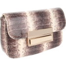 Lauren Merkin Clutch bags -  Lauren Merkin Iris Clutch Brown/White