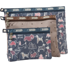 LeSportsac Bag -  LeSportsac 3 Pack Of Cosmetic Case Bow Wow/Multi