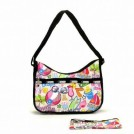 LeSportsac Bag -  LeSportsac Classic Hobo Handbag Purse Beach Hopping Print