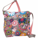 LeSportsac Bag -  LeSportsac Cleo Cross-Body Peppy
