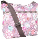 LeSportsac Bag -  LeSportsac Cleo Hobo Cross-Body Bag Merriment