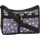 LeSportsac Bag -  LeSportsac Deluxe Everyday Shoulder Bag Heart Parade