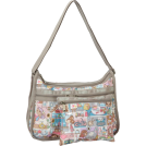 LeSportsac Bag -  LeSportsac Deluxe Everyday Shoulder Bag Home Sweet Home