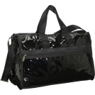 LeSportsac Bag -  LeSportsac Medium Weekender (Patent) Black Patent